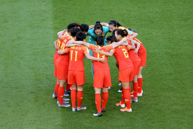 South Africa v China - FIFA Women's World Cup 2019 - Group B - Parc des Princes