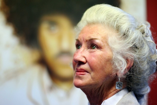 File Photo Philomena Lynott has Died. End.