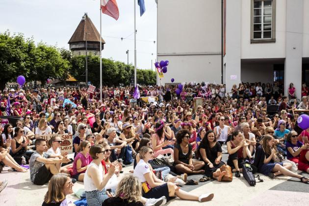 Switzerland Women's Strike