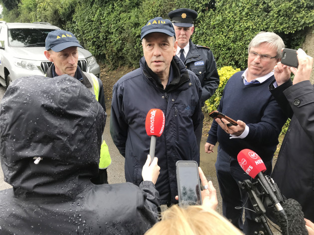 Light aircraft crash Belan, Moone, Athy, Co Kildare