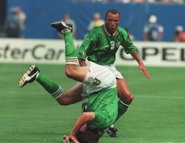 Ray Houghton Republic of Ireland v Italy 18/6/1994  World Cup