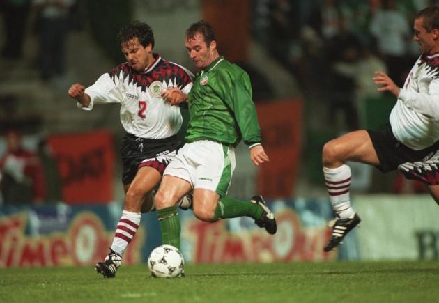 John Sheridan Ireland v Latvia 7/9/1994