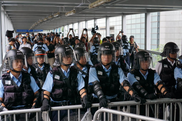 Protests In Hong Kong Over Extradition Bill