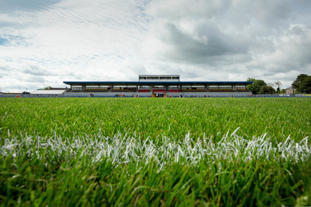 A general view of Cusack Park ahead of the game
