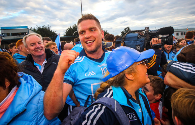 Conal Keaney celebrates after the game