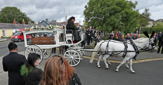 Funeral of Philomena Lynott