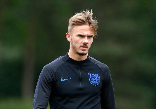 England U21 Training and Media Activity - St George's Park