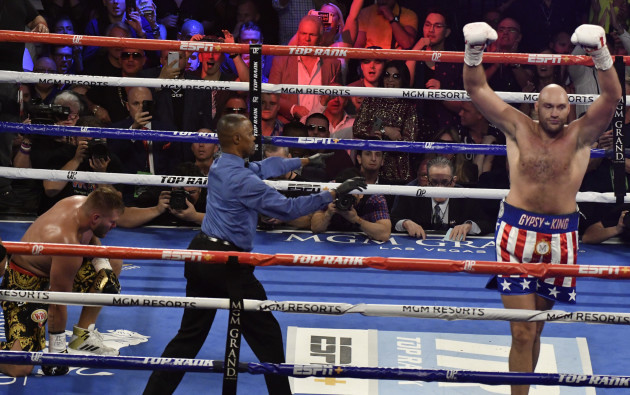 Boxing 2019: Fury Defeats Schwarz In 2nd Round