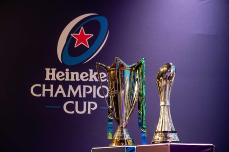 A view of the Heineken Champions Cup and European Rugby Challenge Cup ahead of today's draw