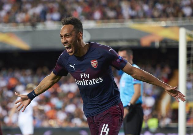 SOCCER: MAY 09 UEFA Europa League - Arsenal FC at Valencia CF