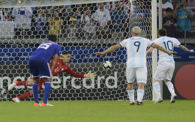Brazil Soccer Copa America Argentina Paraguay