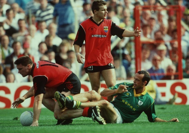 Withnell McCartan and Mick Lyons 1991