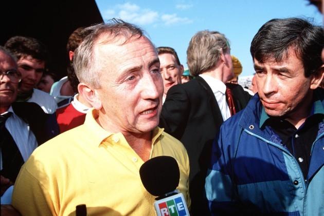 Sean Boylan and Peter McGrath 18/8/1991