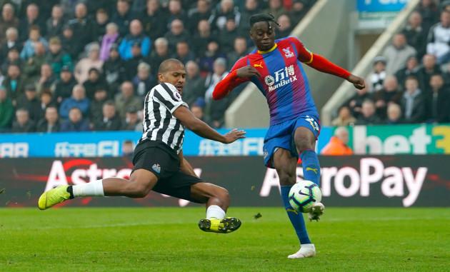 Newcastle United v Crystal Palace - Premier League - St James' Park