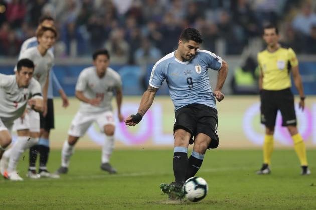 Brazil Soccer Copa America Uruguay Japan