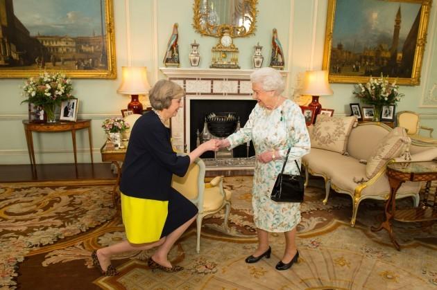 Theresa May becomes PM