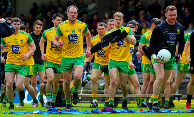 Michael Murphy and teammates after the team photo