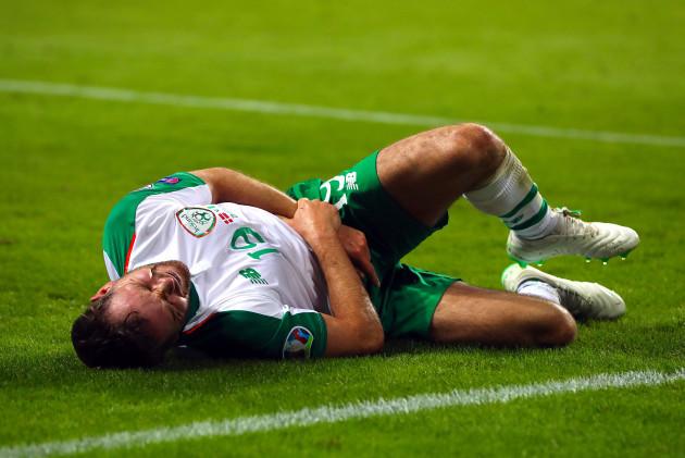 Alan Judge down injured