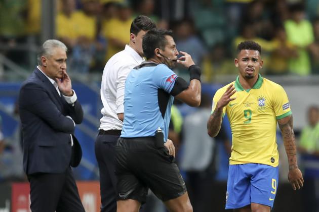 Brazil Soccer Copa America Venezuela