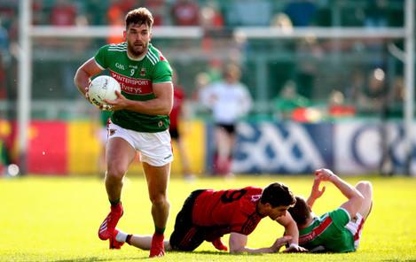 Aidan O'Shea breaks forward