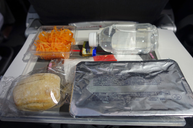 Aeroplane - in-flight meal