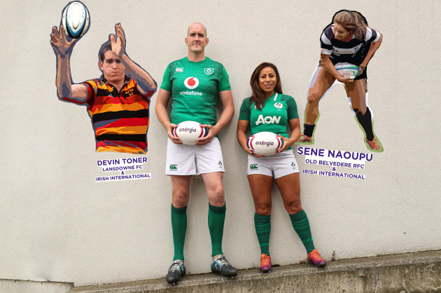 Devin Toner and Sene Naoupu