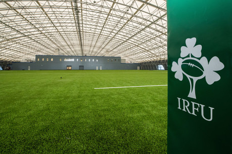A view of the Sport Ireland National Indoor Arena