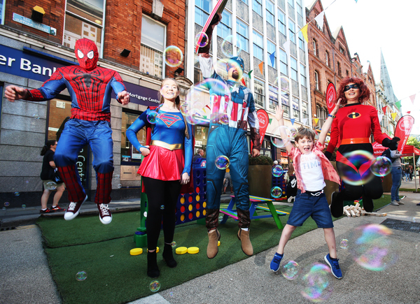 Superheroes unite for this years Summer in DublinTown