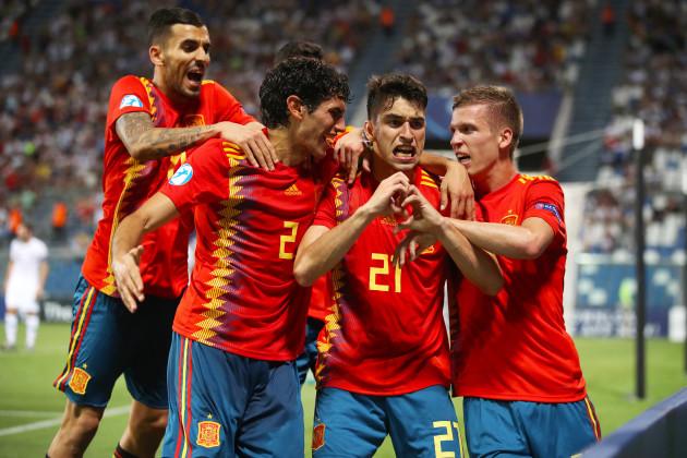 Spain U21 v France U21 - UEFA European Under-21 Championship - Semi Final - Mapei Stadium