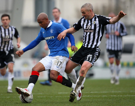 Soccer - Clydesdale Bank Scottish Premier League - St Mirren v Rangers - St Mirren Park