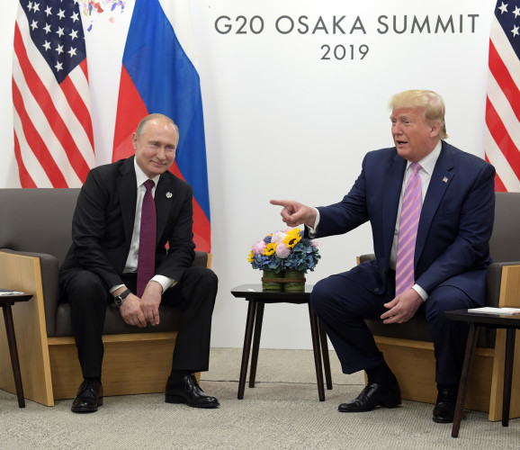 G20 Summit. Putin meets Trump.