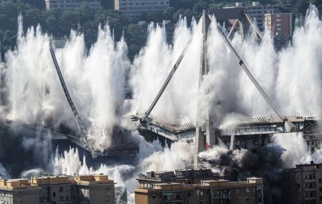 Italy Genoa Bridge
