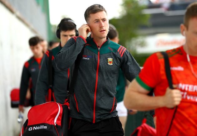 Cillian O'Connor arrives