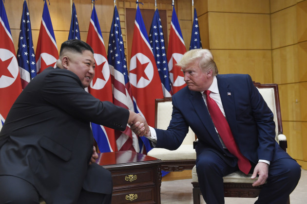 Trump US North Korea