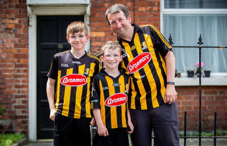 Brian, Eoin and Eamonn Moore