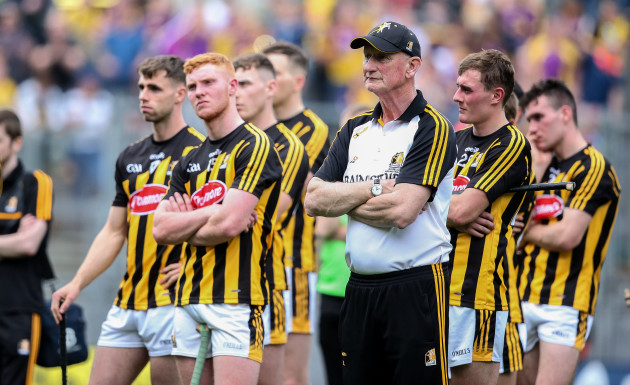 Brian Cody dejected after the game