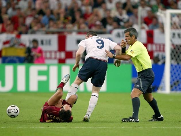 Soccer - 2006 FIFA World Cup Germany - Quarter Final - England v Portugal - AufSchalke Arena