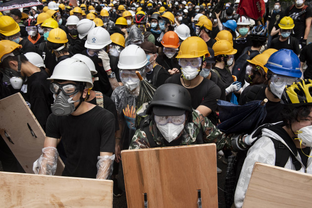 Anti Government Protests in Hong Kong