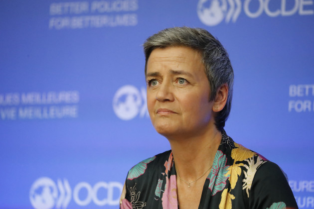Margrethe Vestager Press Conference - Paris