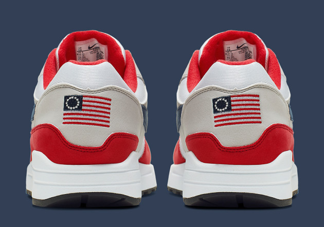 order online new specials wholesale sales Nike pull controversial US flag shoe design after complaint ...