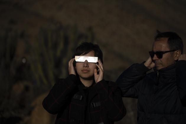 Chile Solar Eclipse
