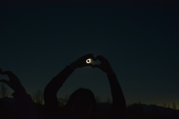 Total Solar Eclipse in South America - Argentina