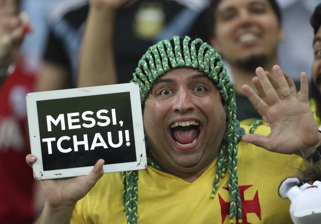 Brazil Soccer Copa America Argentina