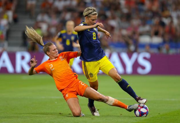 Netherlands v Sweden - FIFA Women's World Cup 2019 - Semi Final - Stade de Lyon