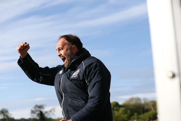 Bangor City v Cardiff Met Uni - Dafabet Welsh Premier League - European Play-off Final - Bangor University Stadium