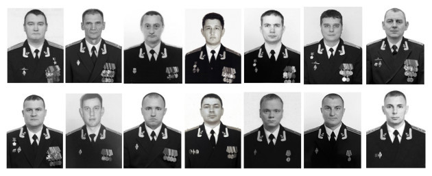 Russia Navy Fire