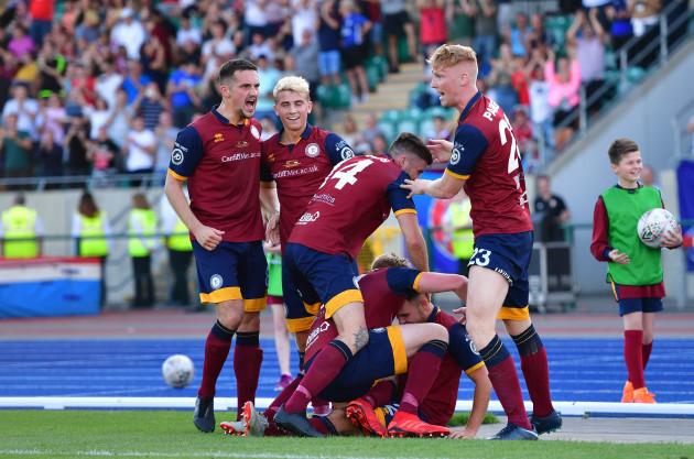 Cardiff MU v Progres - UEFA Europa League - Preliminary Round - Second Leg - Cardiff Athletics Stadium
