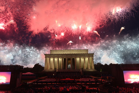 Salute to America' July 4th Event in Washington