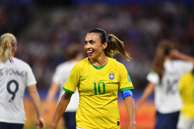 Football, FIFA Women's World Cup 2019, eighth-final France - Brazil