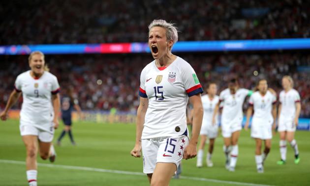 France v USA - FIFA Women's World Cup 2019 - Quarter Final - Parc des Princes